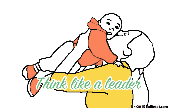think like a leader
